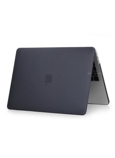 """Mcstorey Yeni MacBook Pro Touchbarlı A1706 A1708 A1989 A2159 13.3"""" Kılıf Kapak Hard case Mat Siyah"""